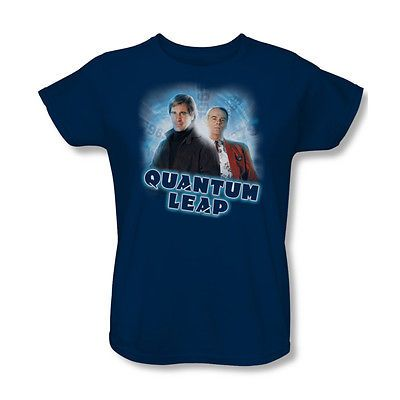 Quantum-Leap-Science-Fiction-Mystery-TV-Series-Sam-Al-Womens-T-Shirt-Tee