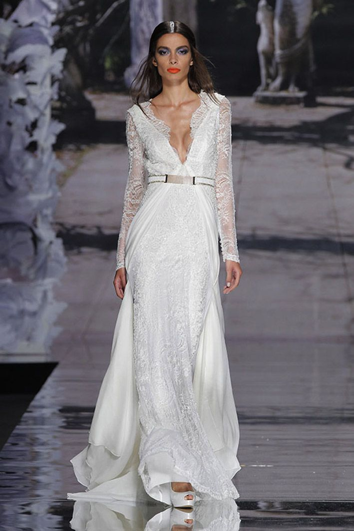 Debora Wedding dress | Couture Wedding dresses line by YolanCris at Barcelona Bridal Week