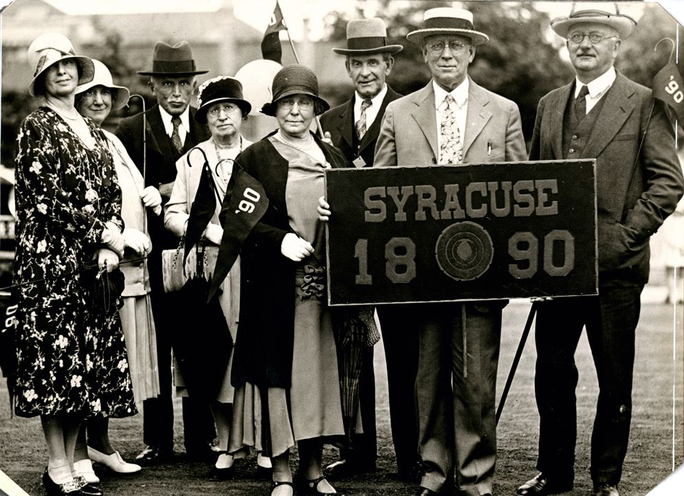Class of 1890 (Courtesy SU Archives) Syracuse university