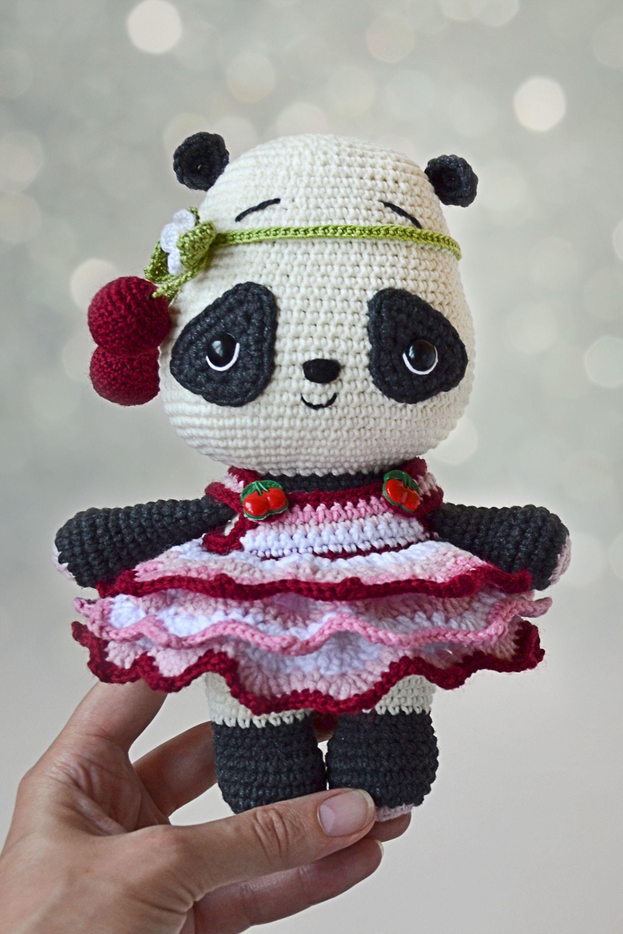 Como Fazer Panda Amigurumi de Croche - Receitas Passo a Passo Para  Iniciantes - YouTube | 3749x2500