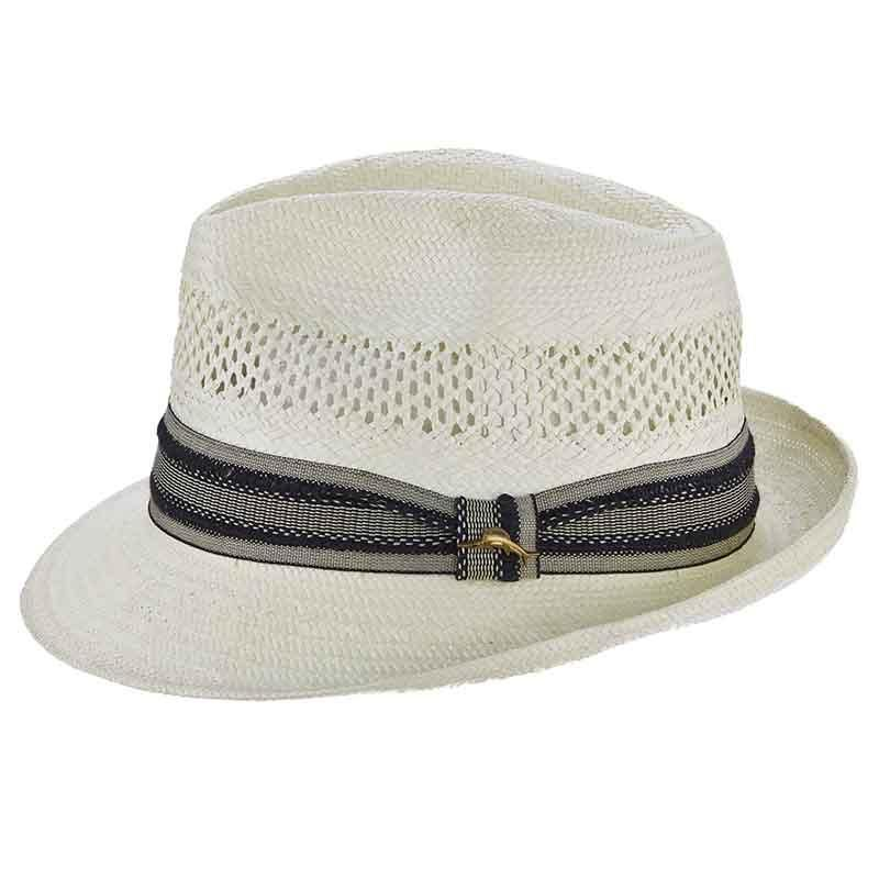 e667fa1c5 Tommy Bahama Open Weave Vented Toyo Fedora - Ivory | Products ...