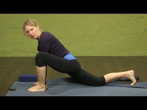 dragon pose  yin yoga variation of lizard lunge and half