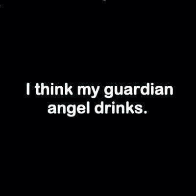 Drunk angel