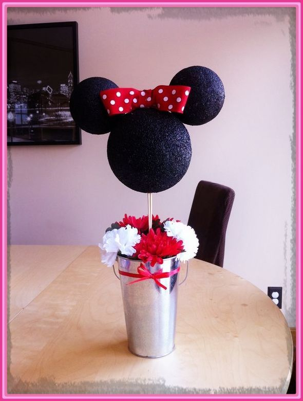 ideas para decorar cumpleaos de minnie mouse