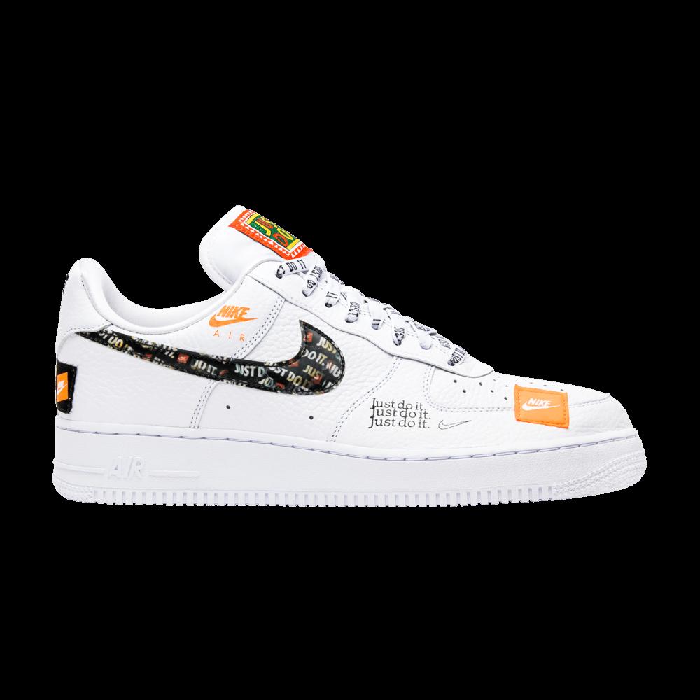 Nike Air Force 1 Low Premium White Total Orange Cool Sneakers