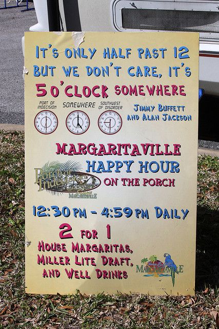 Margaritaville Signage Possible Wording For The Invitations