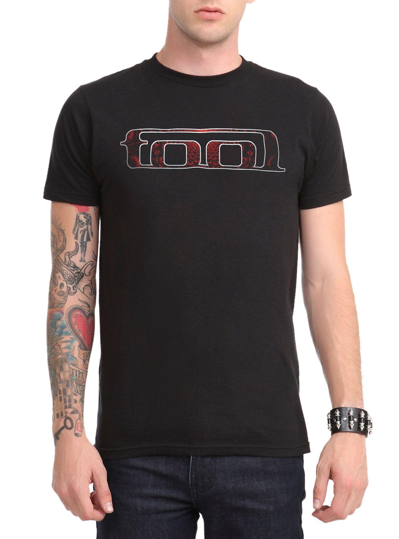 Tool Red Fill Logo T-Shirt | Hot Topic