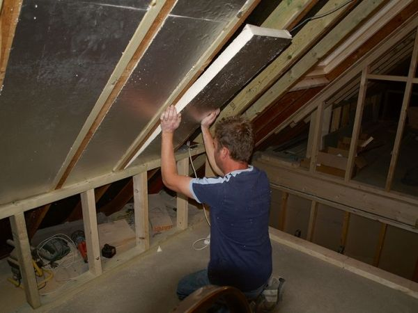 Rafters Insulated In A Loft Conversion By Lynda Loft Conversion Attic Renovation Barn Loft Apartment