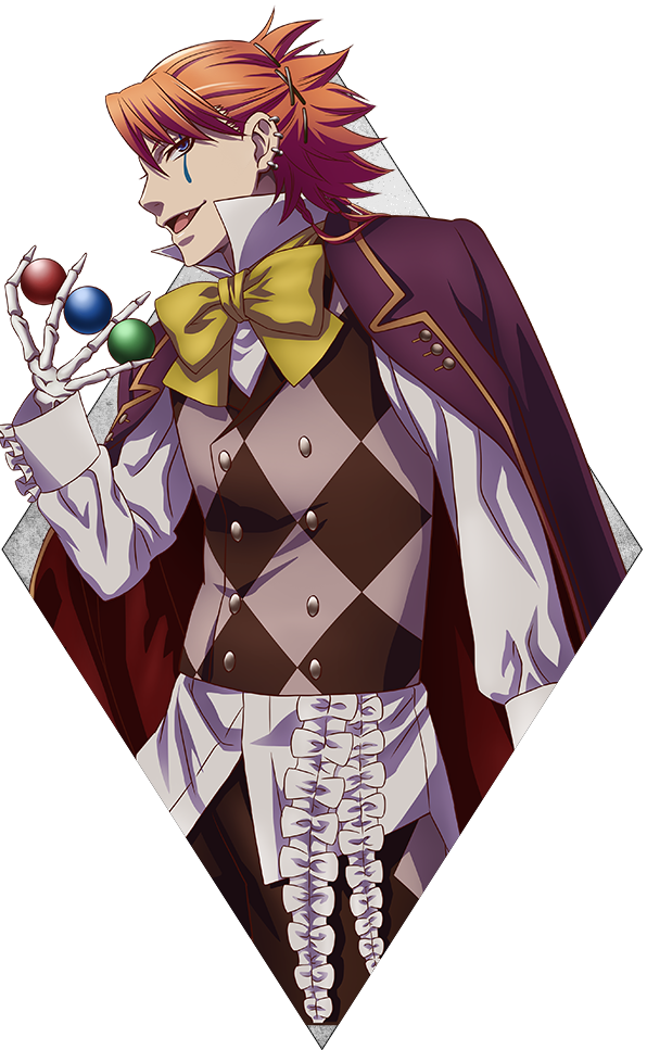 Pin em Joker (Kuroshitsuji)
