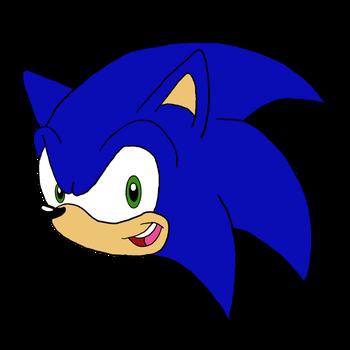 Sonic Head By Pikachugirl1250 Online Art Gallery Art Gallery Art