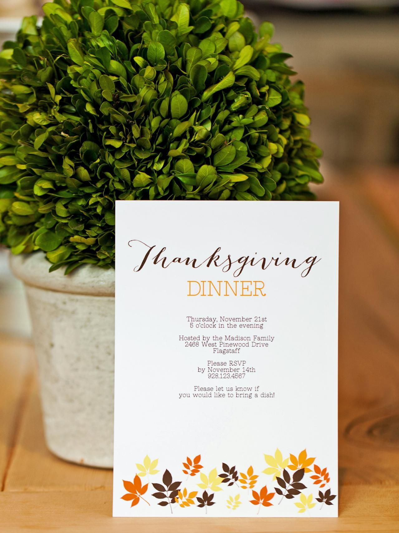 Tips for hosting a potluck dinner for thanksgiving plus how to thanksgiving parties stopboris Image collections