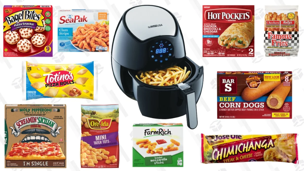 The Best Frozen Foods To Cook In Your Air Fryer, And How