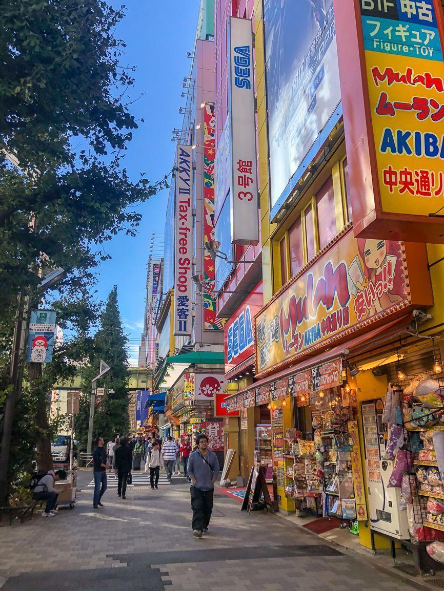 A guide to visiting Akihabara Japan street, Train rides