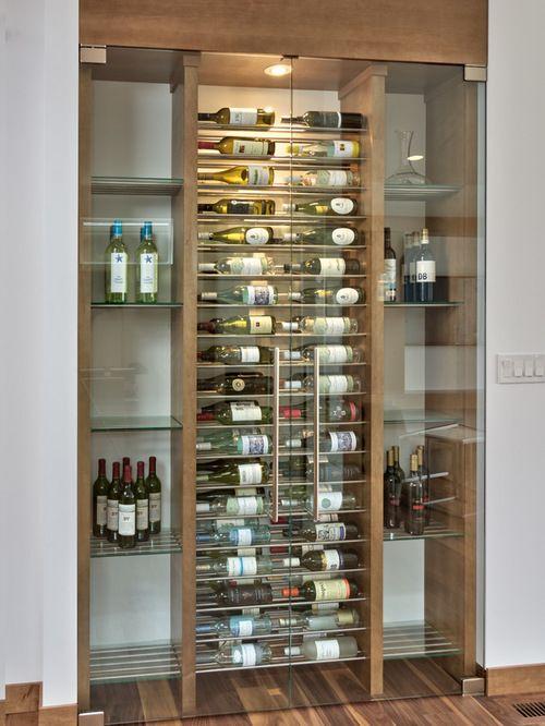 Houzz wine cellar design ideas remodel pictures wine - Estantes para vinos ...