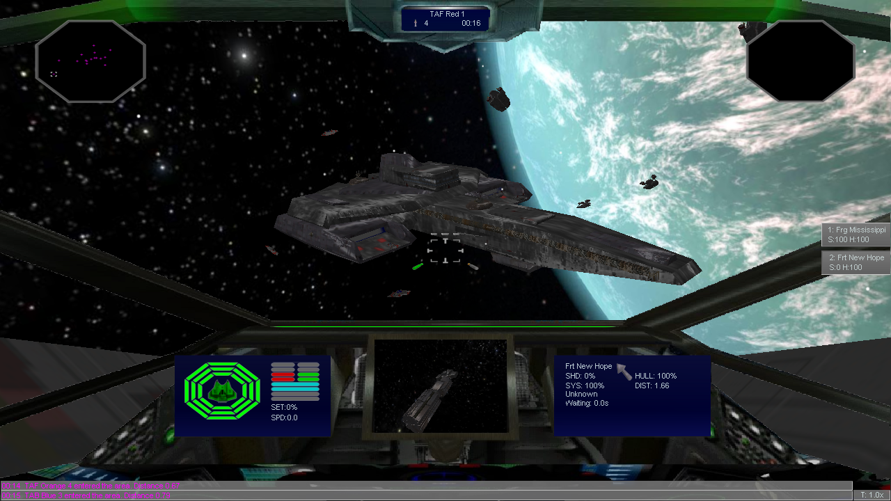 Space Combat 0.9.6750 Alpha is an open source