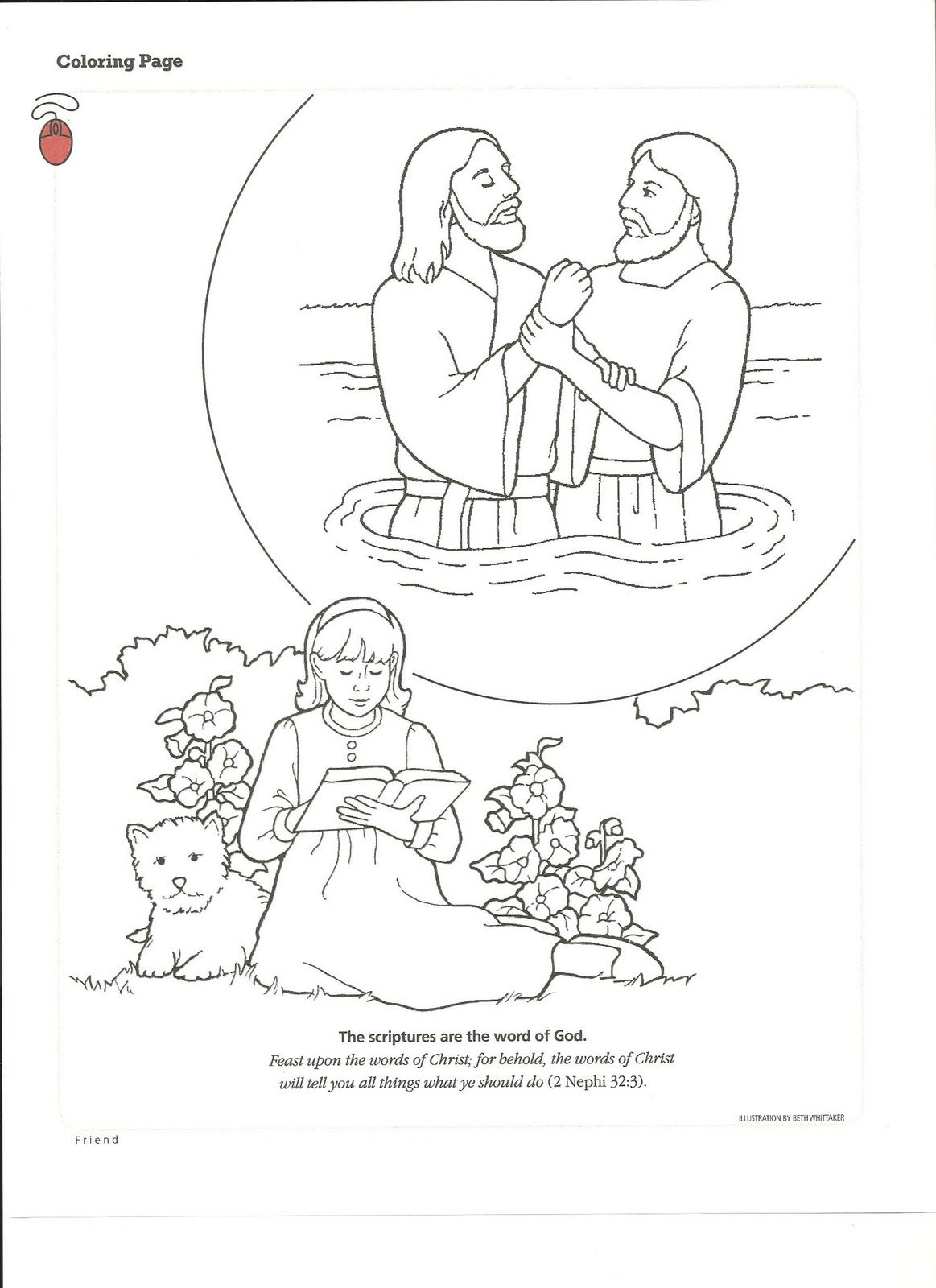 Primary 5 Lesson 34 Coloring Pages Bear Coloring Pages