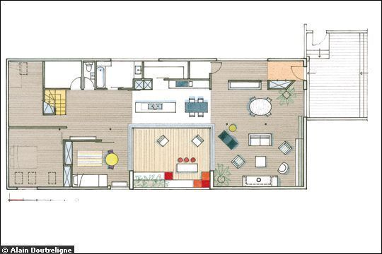 Huit Plans Pour Créer Un Esprit Loft   Lofts