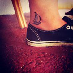 simple sailboat tattoos - Google Search