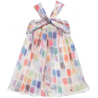 Watercolour Chiffon Dress