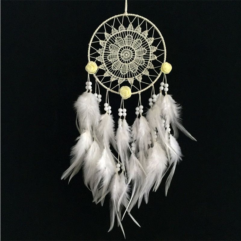 A Flawless Look At A Intricate Dream Catcher Beautiful In All White Best All About Dream Catchers