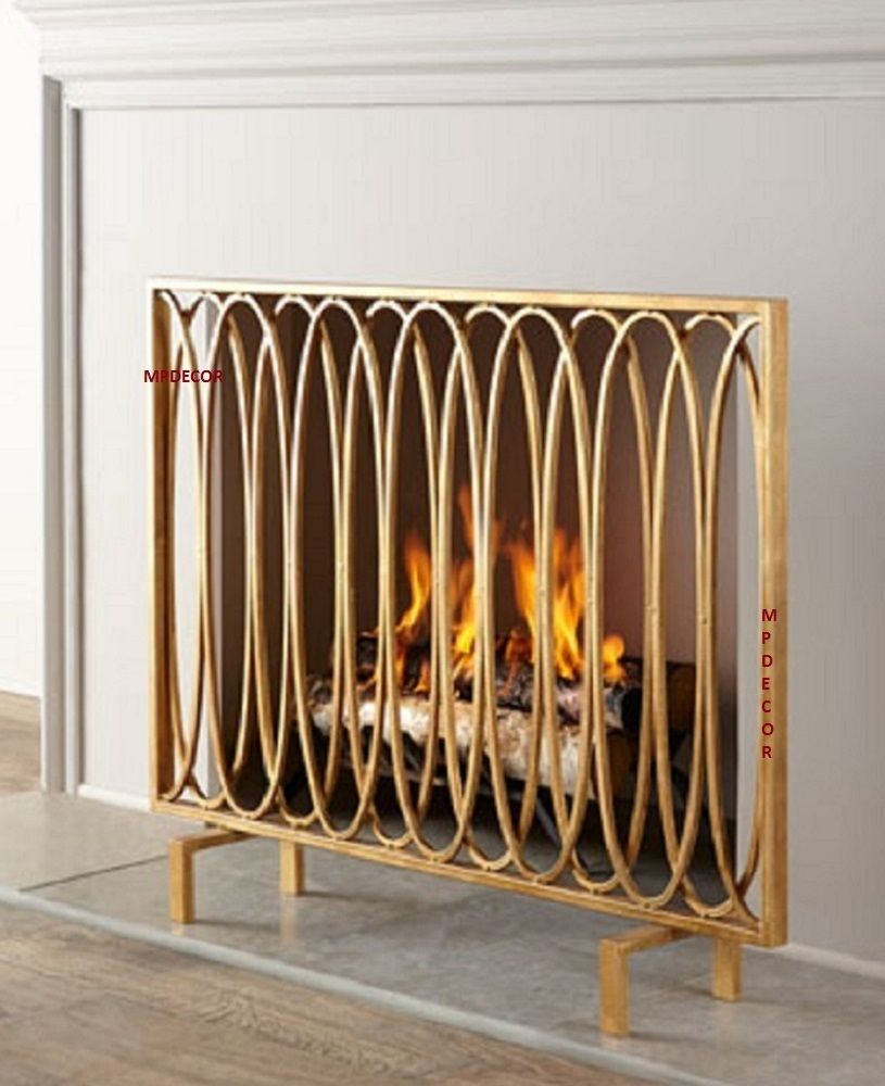Fireplace screens and Room