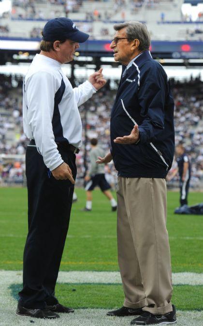 Coach Bradley & Coach Paterno