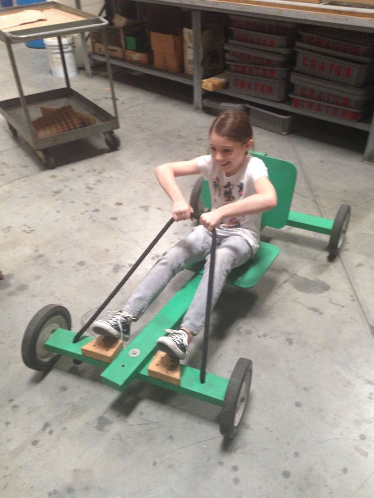 Life Sized Kids Soap Box Downhill Derby Race Car Boy Scouts With