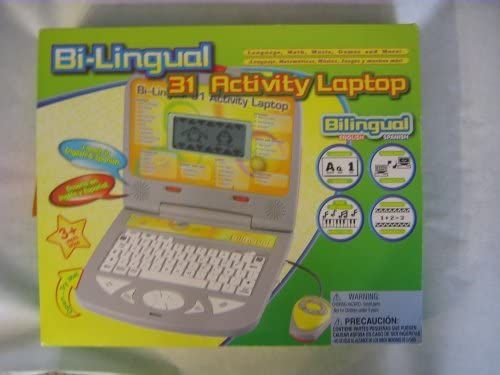 Amazon.com: Bi-lingual 31 Activity Laptop: Toys & Games