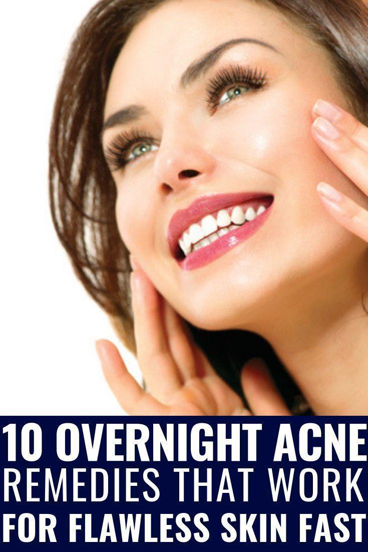 diy pimple spot treatment overnight