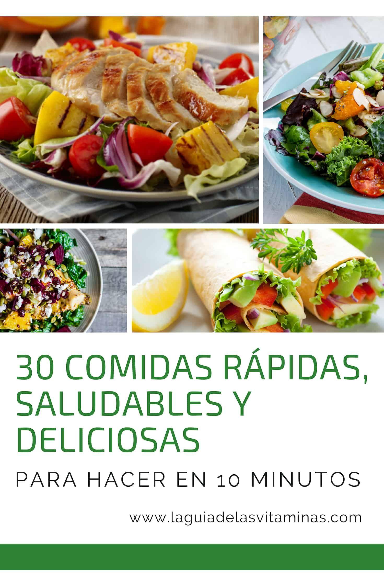 Recetas de comida rapidas y deliciosas