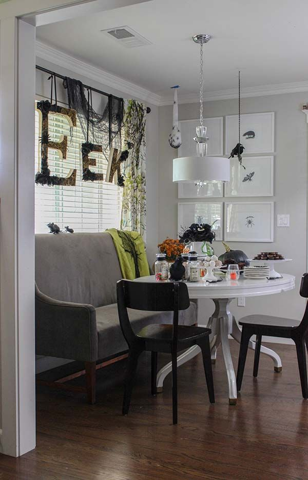 Halloween Decorating Ideas A Not-Too-Creepy Halloween Creepy - indoor halloween decoration ideas
