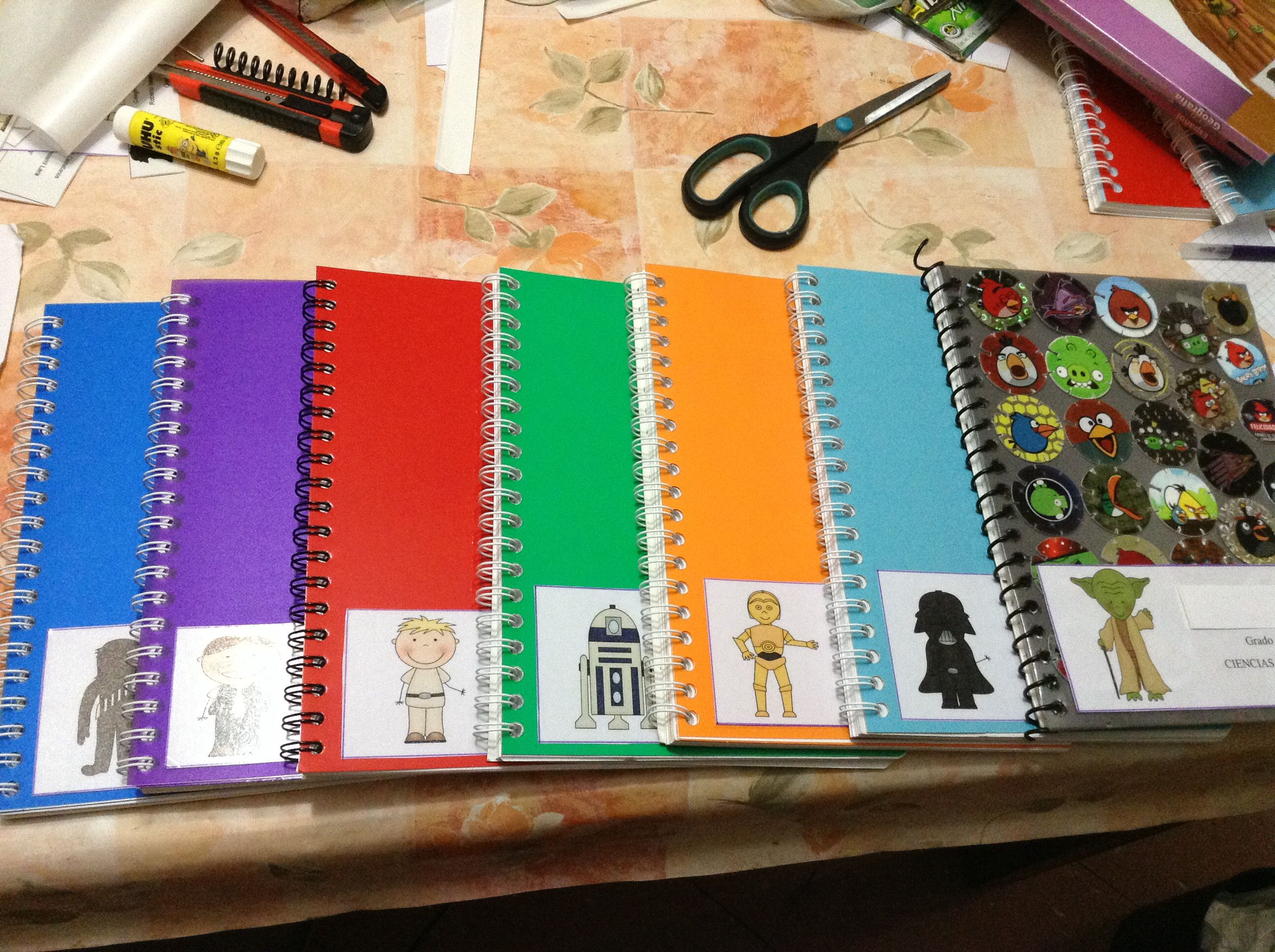 Listos Para La Escuela Libretas Materiales Reciclados Reciclado