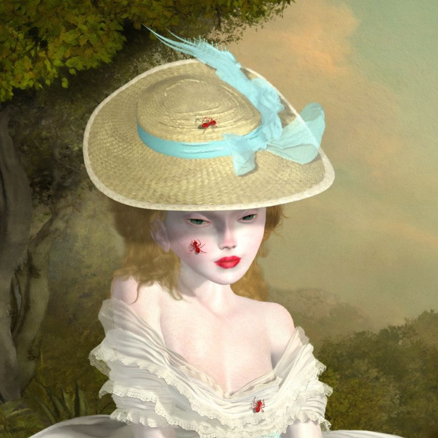 Ray Caesar - Gallery, lunch would be very sad