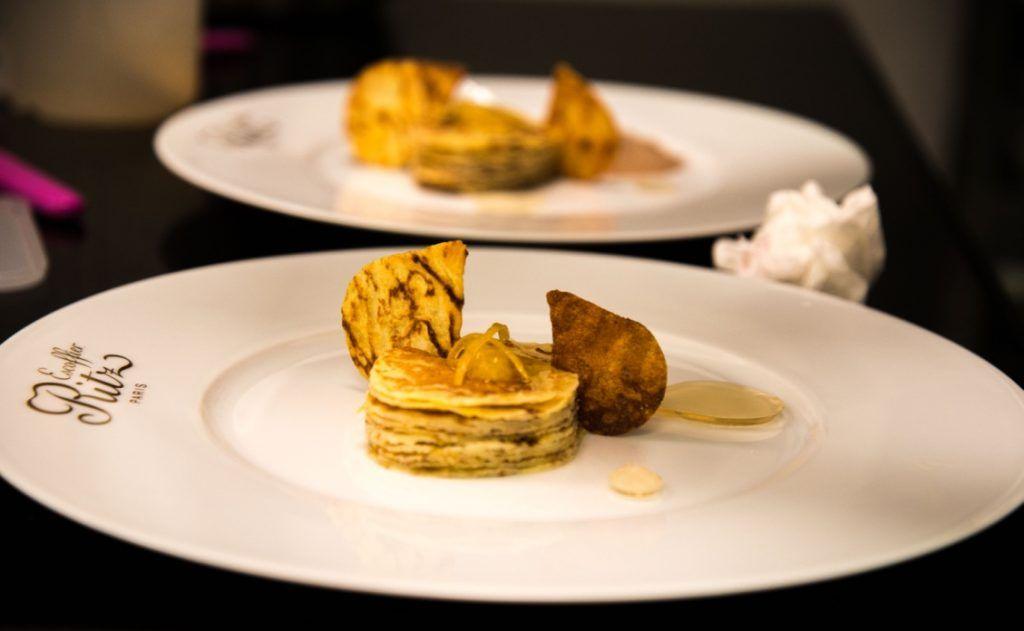 Recette De Crepes En Feuille A Feuille Cours De Cuisine Ritz