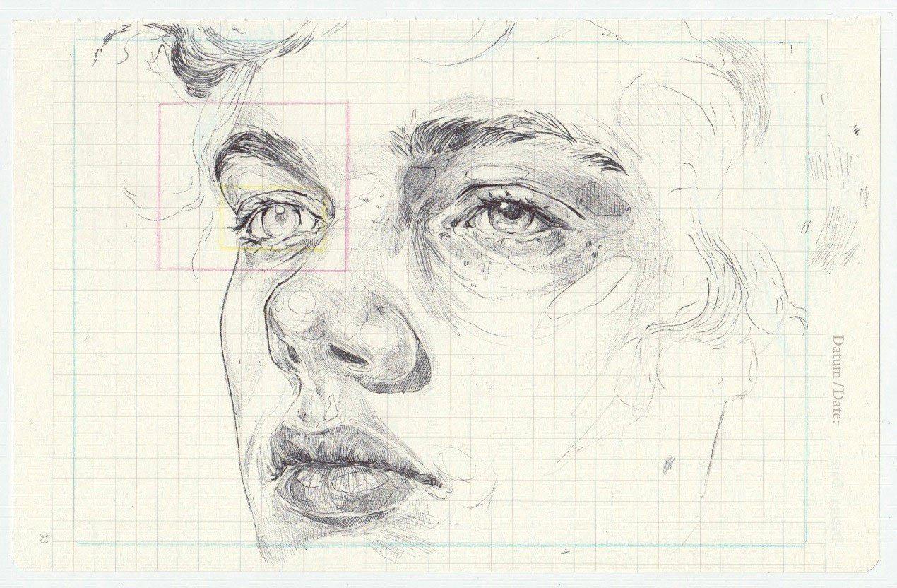 Contour Line Drawing Face : Imagem de art boy and drawing sketches pinterest draw