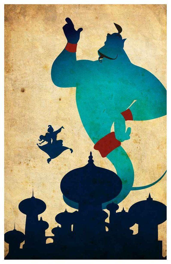 Disney movie poster - Aladdin #filmposters