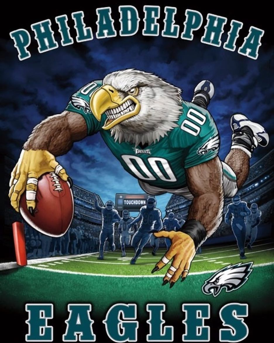 #philadelphiaeagles #eaglespridesince1933 #flyeaglesfly