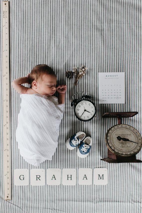 Vintage boys birth announcement #babynamesboy