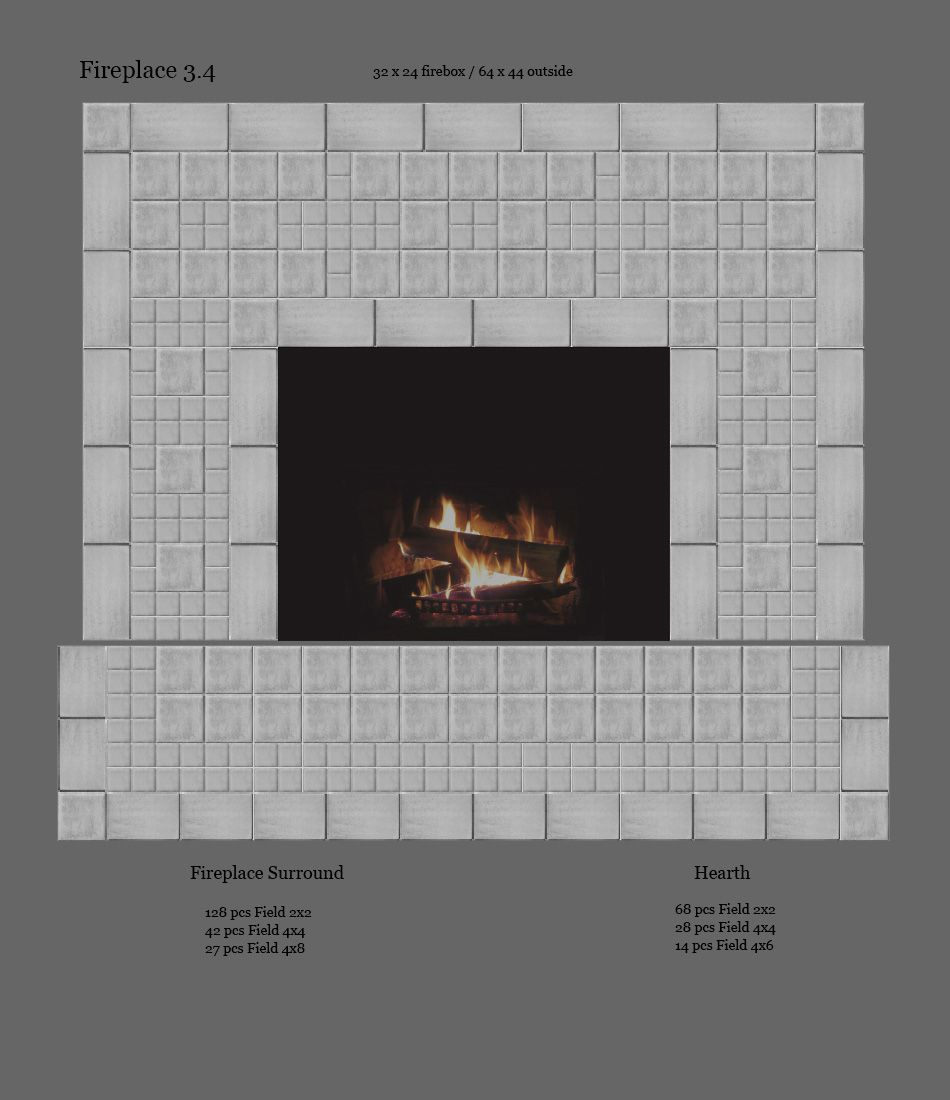 terra firma ltd handmade arts and crafts tile fireplaces