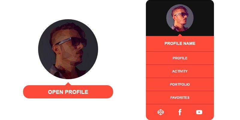 Css Profile Layouts Css Profile Css Web Design
