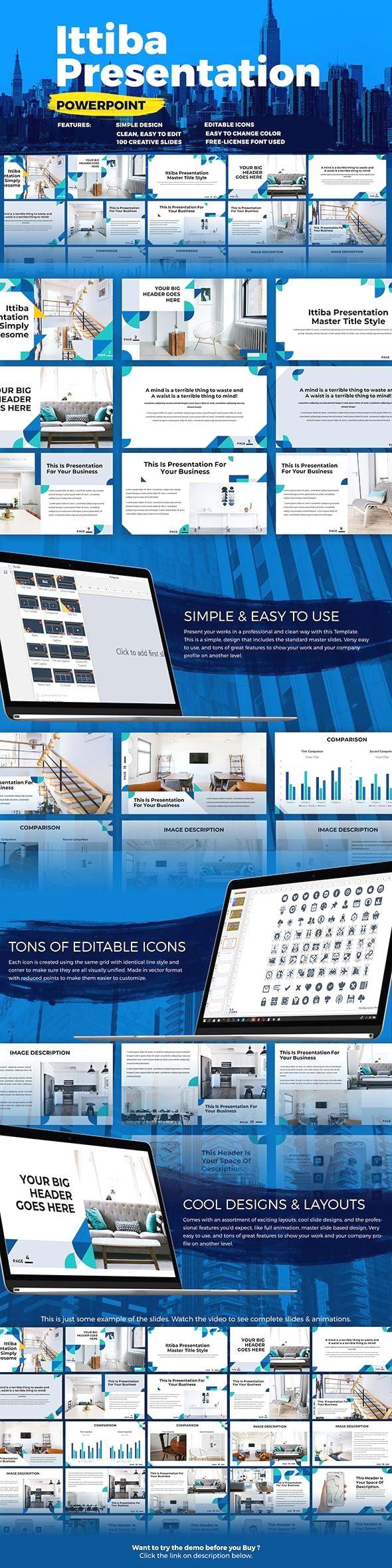 ittiba powerpoint presentation graphicriver presentation