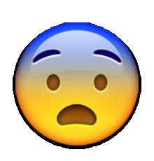 Visage Peur Emoticone Logo Du Jeu Dessin Visage