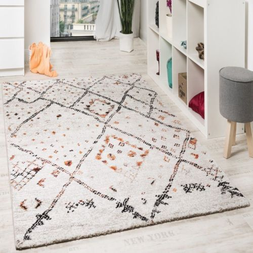 New Traditional Rug Shabby Chic Carpet Multi Short Pile Small Extra Large Rugs