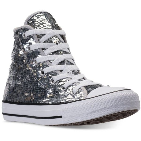 Converse Mujer Chuck Taylor Sequin High from Top Casual Zapatillas from High ef4f1b
