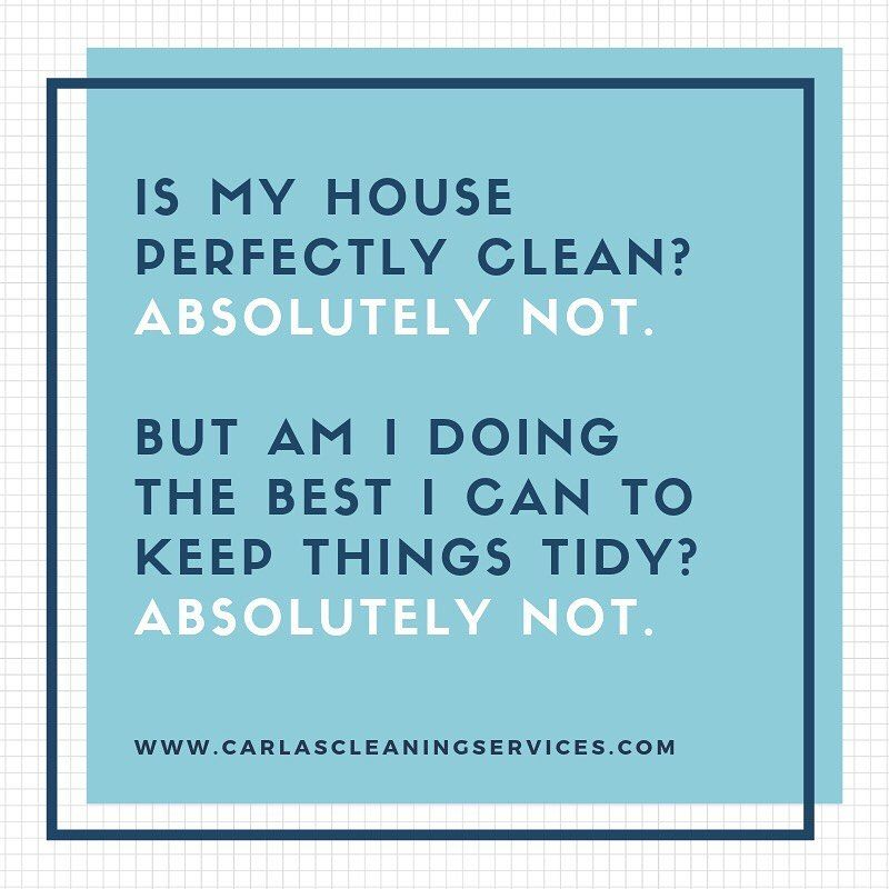 Image May Contain Text That Says Is My House Perfectly Clean Absolutely Not But Am I Doing The Best I Can To Keep Things Tidy Absolutely Not Www Carlascle