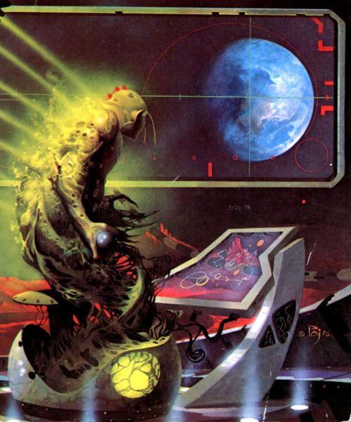 """80s-90s-stuff: """" 70s sci fi art """""""