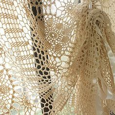 10 Free Crochet Curtain Patterns