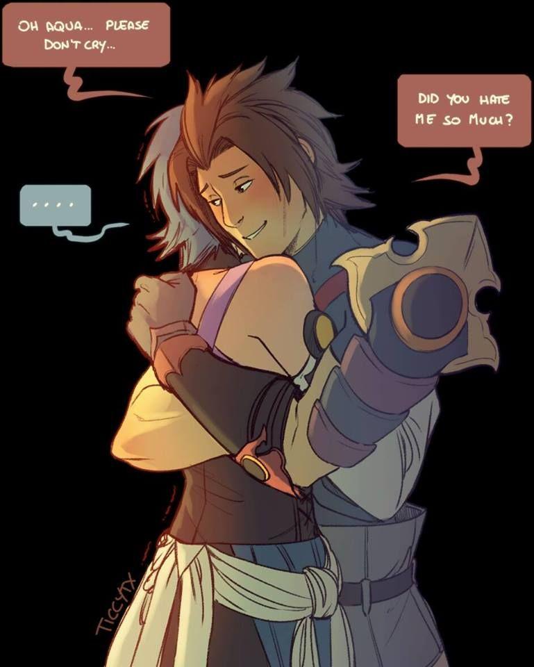 1/2 Terra and Aqua. Kingdom Hearts. Credits to the artist ...Terra And Aqua