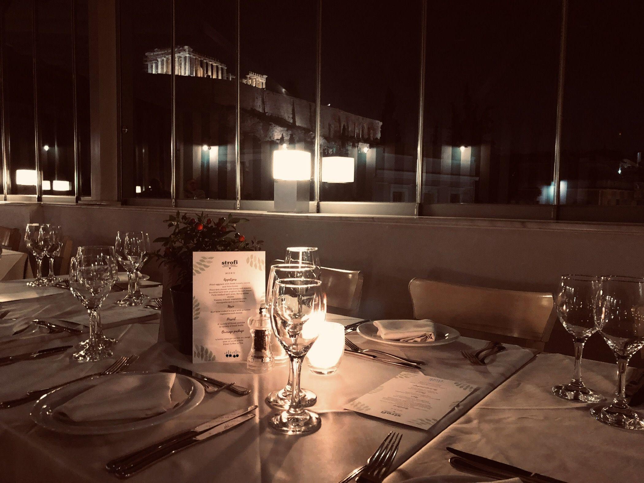 #strofi #restaurant #athensgreece #dinner  #dining #greece #corporateevents