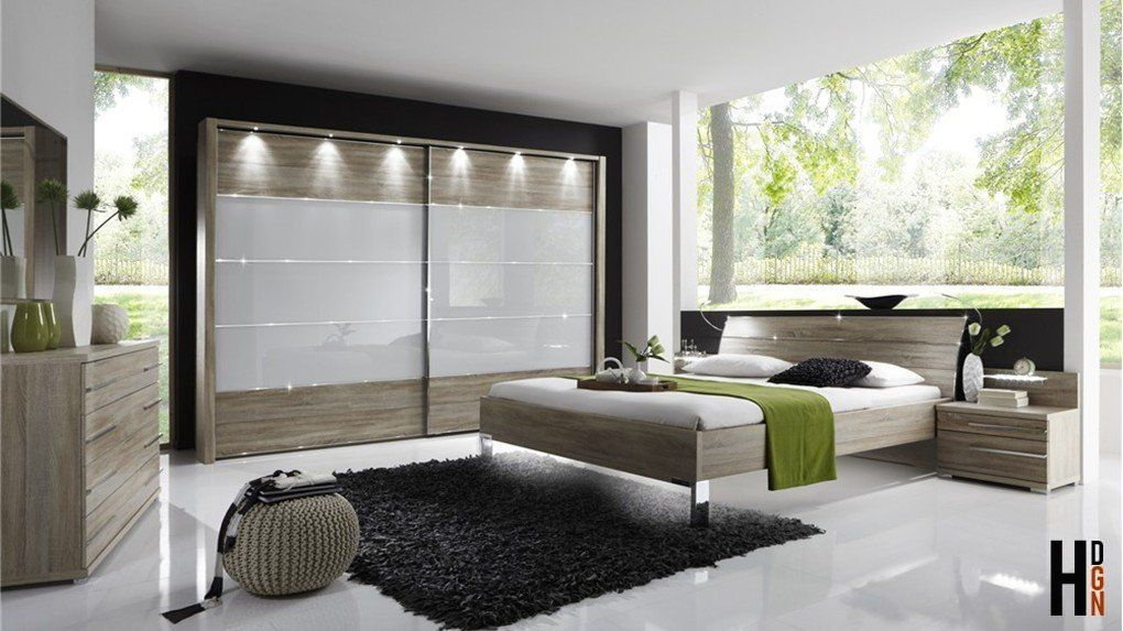 Stylform EOS – Wood/Glass Contemporary Bedroom Furniture Set ...